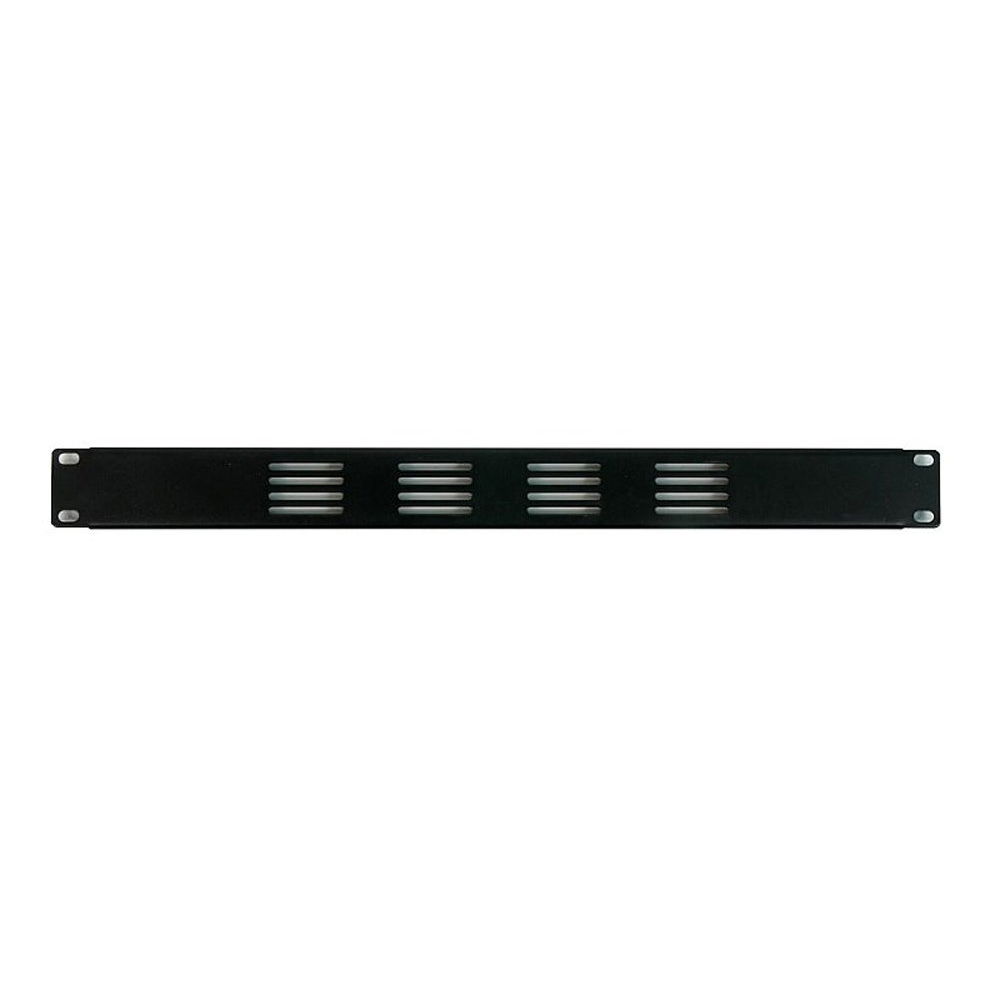 "OSP 1 Space Vented Rack Panel 19"" 1U One Unit Blank HYC-38V"