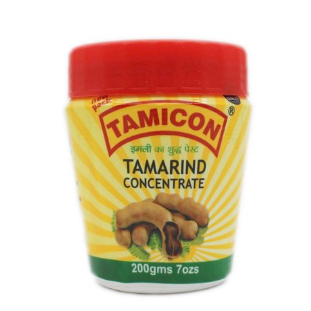 7oz Tamicon Tamarind Concentrate Paste 200g Indian Seasoning for Soup Stew Gravy (India Soup)