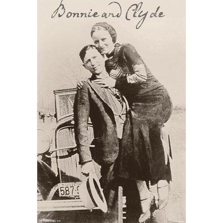 Trends International Bonnie And Clyde Collectors Edition Wall Poster 24   X 36