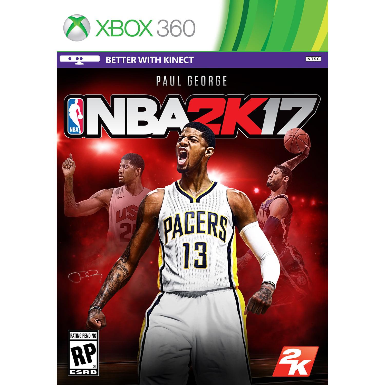 NBA 2K17 (Pre-Owned) ,2K, Xbox 360, 886162557749