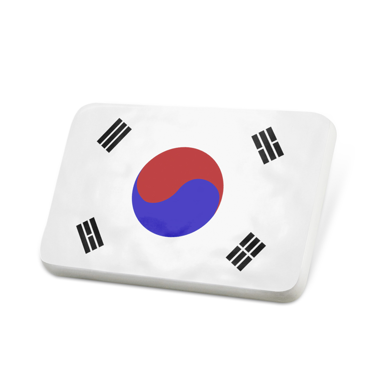 Porcelein Pin South Korea Flag Lapel Badge � NEONBLOND by NEONBLOND