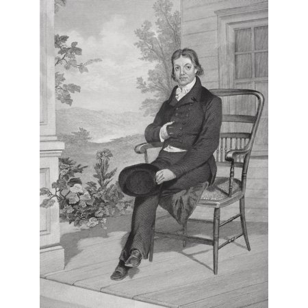 John Randolph 1773-1833 American Politician Member Of US House Of Representatives From Painting By Alonzo Chappel Canvas Art - Ken Welsh Design Pics (24 x 34)