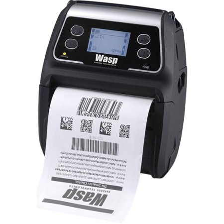 Wasp Wpl4ml Direct Thermal Printer - Monochrome - Portable - Label Print - 90