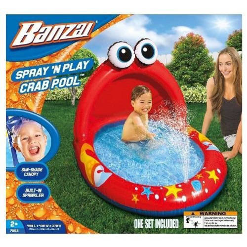 "49"" Spray 'N Play Crab Pool"