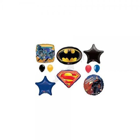 BATMAN VS. SUPERMAN: Dawn Of Justice Birthday Party Balloons Decoration Supplies Movie - Superman Party Decorations