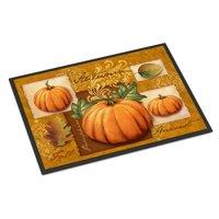 Fall Harvest Pumpkins Door Mat