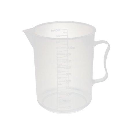 Kitchen Lab 1000mL Plastic Anti-acid Measuring Cup Jug Pour Spout Container