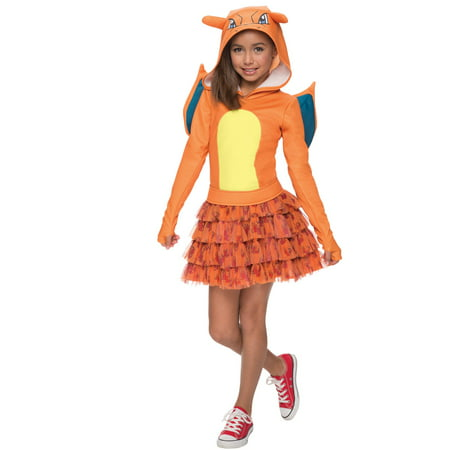 Pokemon Charizard Hoodie Child Costume - Charizard Pokemon Costume