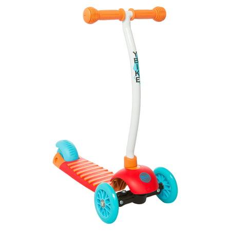YBike GLX Cruze 3-Wheel Scooter, Orange