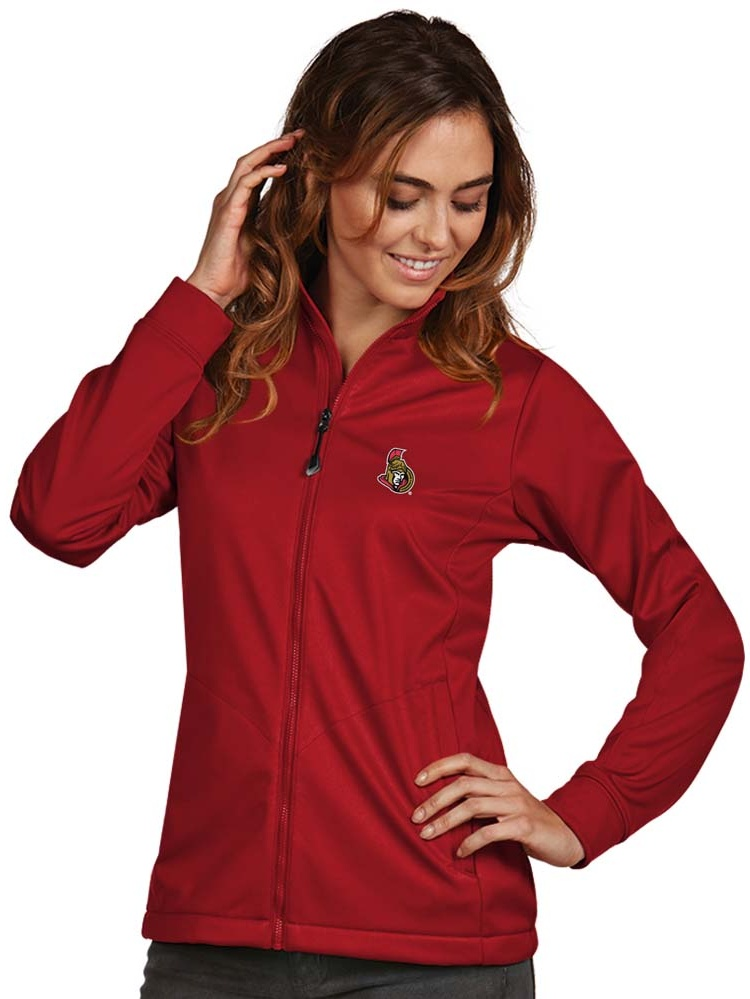 Ottawa Senators Antigua Women's Golf Full Zip Jacket Red by ANTIGUA GROUP/ 22534