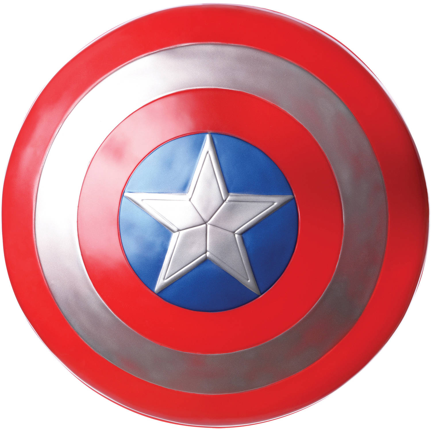 "Captain America 24"" Shield Adult Halloween Costume Accessory"