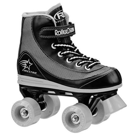 Roller Derby FireStar Youth Boy's Roller Skate Black Roller Skate Men