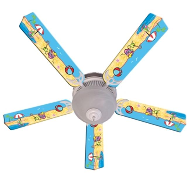 Ceiling Fan Designers 52FAN-IMA-FITS Fun In The Sun Ceiling Fan 52 inch