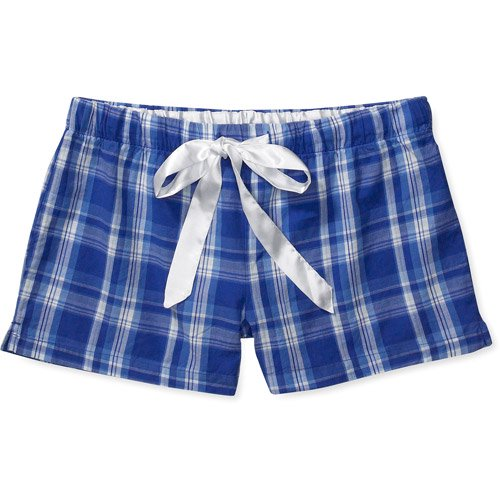 b18926c0d5a Faded Glory - Faded Glory - Women's Plus Organic Cotton Woven Sleep Shorts  - Walmart.com