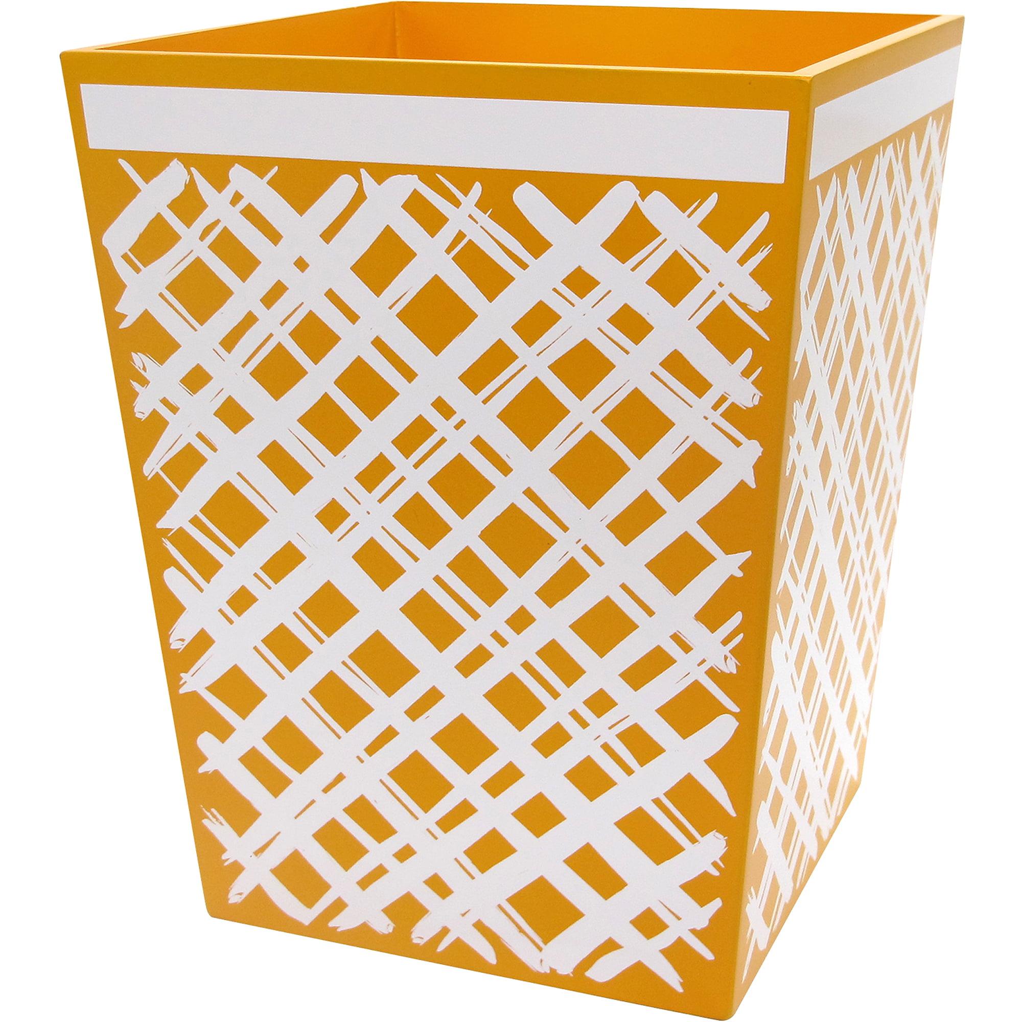 Sunflower Wastebasket