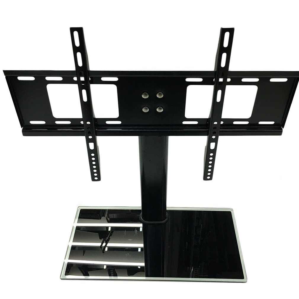 LESHP 26-32 / 37-55 inch Adjustable Movable Folding Universal TV Stand Pedestal Base Wall Display Rack Mount Flat Screen TVs