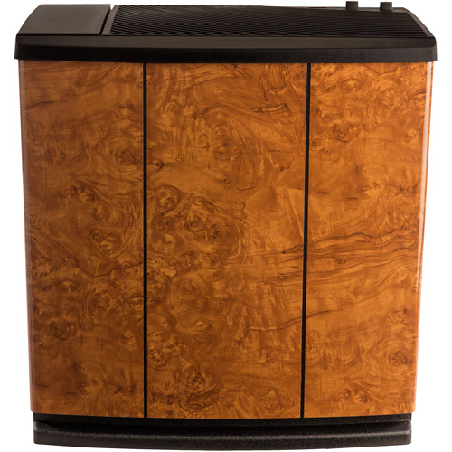 AIRCARE H12 400HB Console Humidifier for 2500 sq. ft., Oak Burl