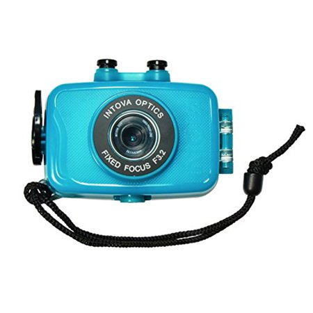Intova Camera (Intova Duo Waterproof HD POV Sports Video Camera, Aqua )
