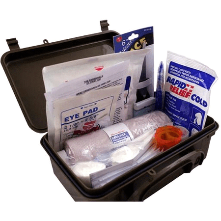 Elite Fully Stocked General Purpose First Aid Kit W  Case