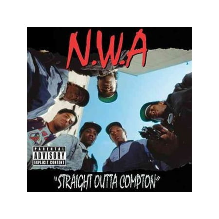 Straight Outta Compton (CD) (explicit) (Straight Outta Compton Eazy E Gets Jumped)
