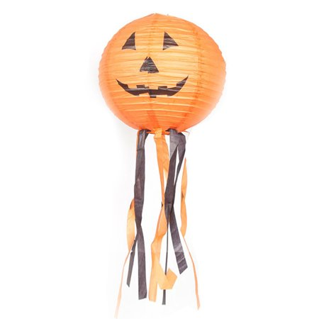 Halloween Pumpkin Paper Lanterns Shopping Mall Hotel Decoration Supplies Ghost Festival Lantern Holiday Party Decor Scary Prop - Scary Teenage Halloween Party Games