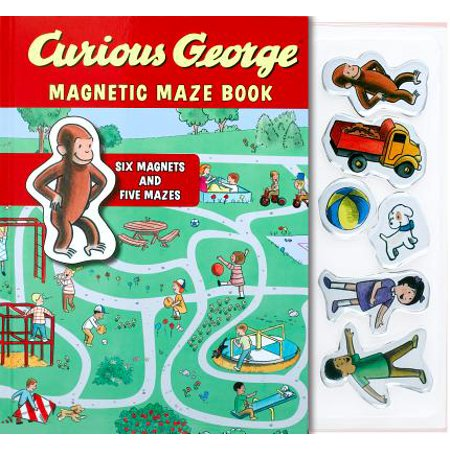 A Maze In Corn Halloween (Curious George Magnetic Maze)