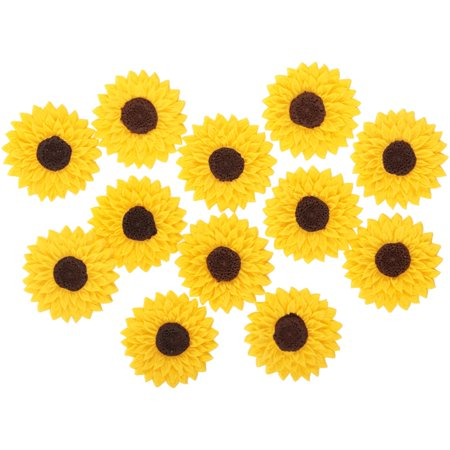 Sunflower Cake Decorations (Wilton® Royal Sunflower Icing Decorations 12 ct.)
