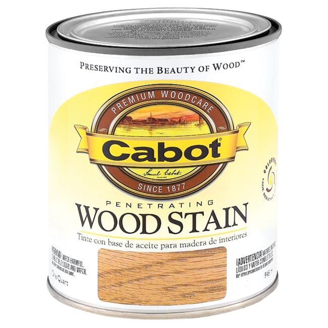 Valspar Brand 1 Quart Red Oak Interior Oil Wood Stain  144-8129 QT