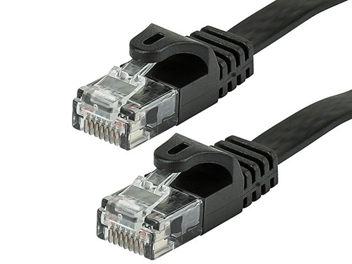 25FT Cat5E RJ45 Network LAN Ethernet UTP Patch Cable Cord Gold Copper Wire Gray