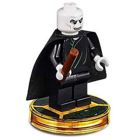 LEGO Dimensions Lord Voldemort Minifigure (Voldemort Lego)