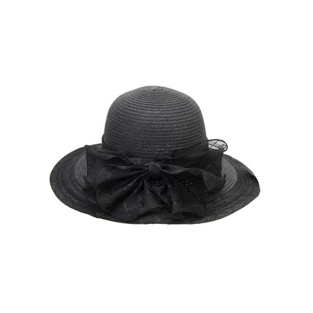 Chic Headwear Briad Hat w/ Back Bow