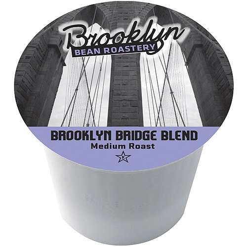 Brooklyn Bean Roastery Brooklyn Bridge Blend Single Serve Coffee Cups, 16 count
