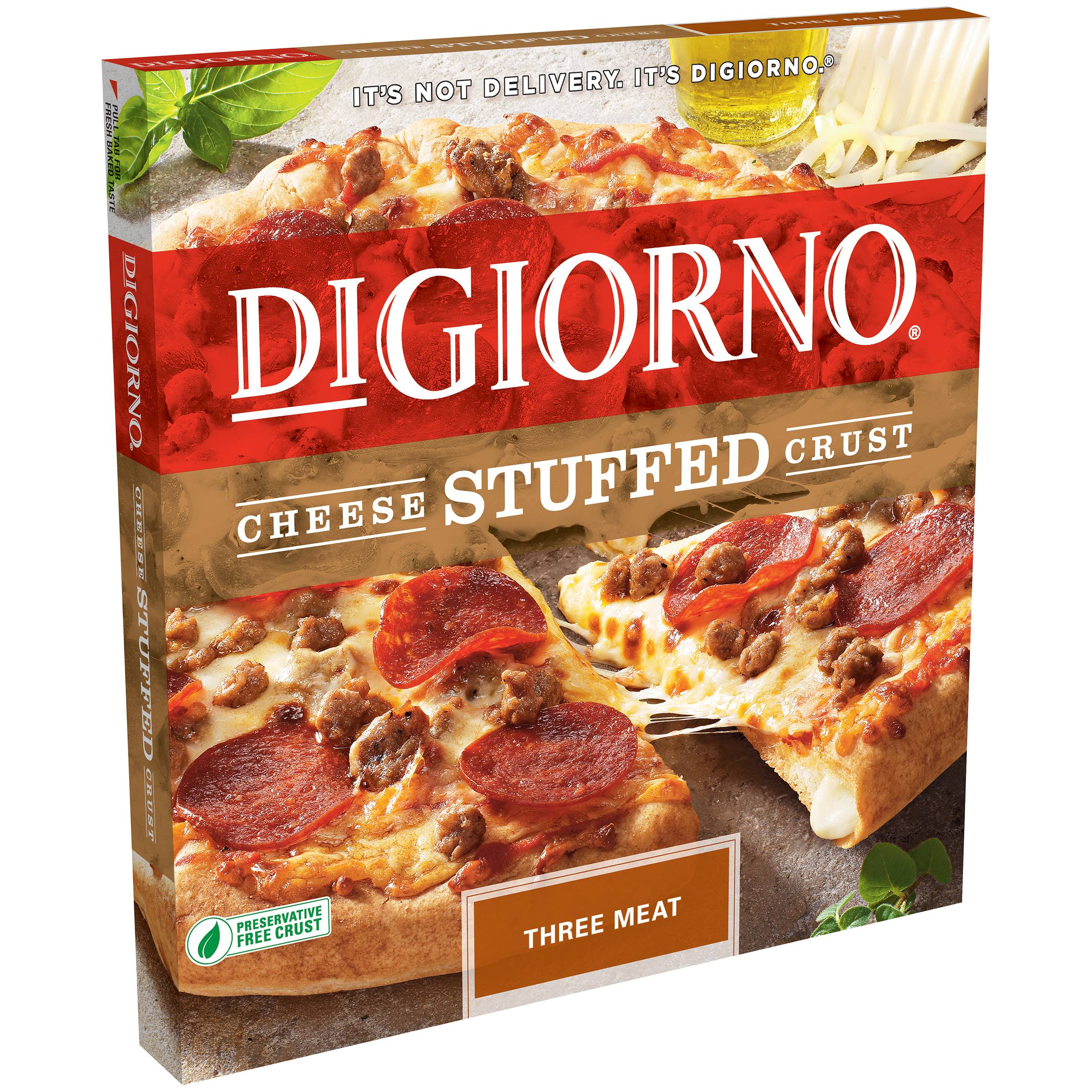 Digiorno Pizza Digiorno Cheese Stuffed Crust Three Meat Pizza 28.7 Ozbox