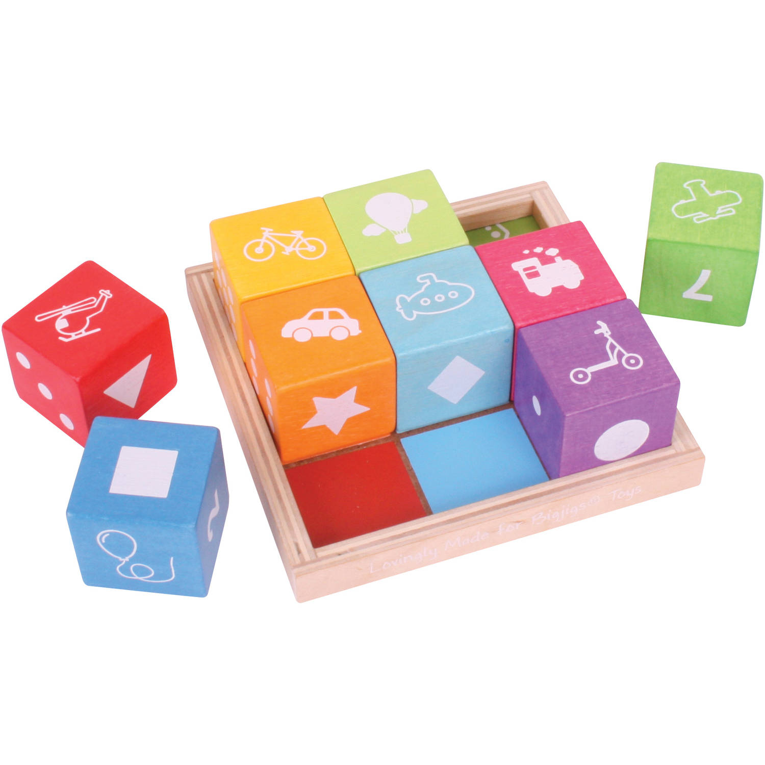 BigJigs Baby My First First Picture Blocks