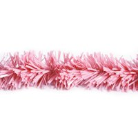 25' Pink Metallic Twist Novelty Christmas Garland