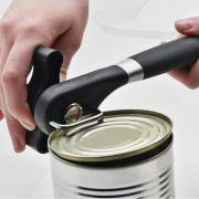- Jeobest 1PC Manual Can Opener - Smooth Edge Kitchen Cans Opener Professional Ergonomic Manual Can Opener Side Cut Manual Can Tin Opener MZ(black)