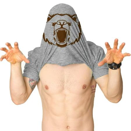 Crazy Dog T-shirts Ask Me About My Angry Bear T Shirt Funny Bear Flip Shirt Bears Flipover