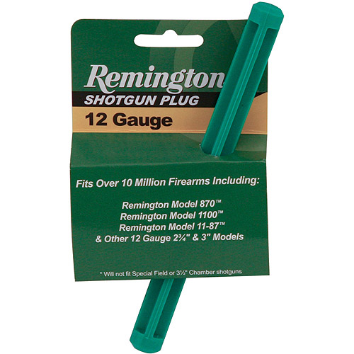 "Remington 3"" Magazine Plug for Models 870, 1100 and 11-87"