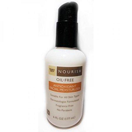 - Trader Joe's Nourish Oil-Free Antioxidant Facial Moisturizer 6oz