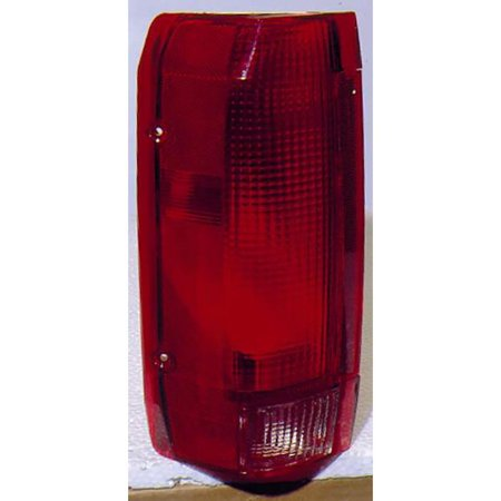 For Ford F150 Pickup 10/89 -98/Bronco 10/89-96 Tail Light Assembly Unit Styleside Type Driver Side (DOT Certified)