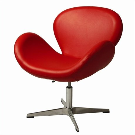 shape alpha itm red loading s accent ottoman and white shell chair image chamber is egg