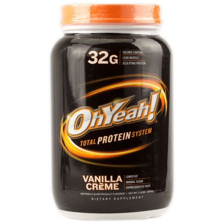 ISS Research Oh Yeah! Total Protein System Vanilla Creme 2.4 Pound Iss Protein Wafer