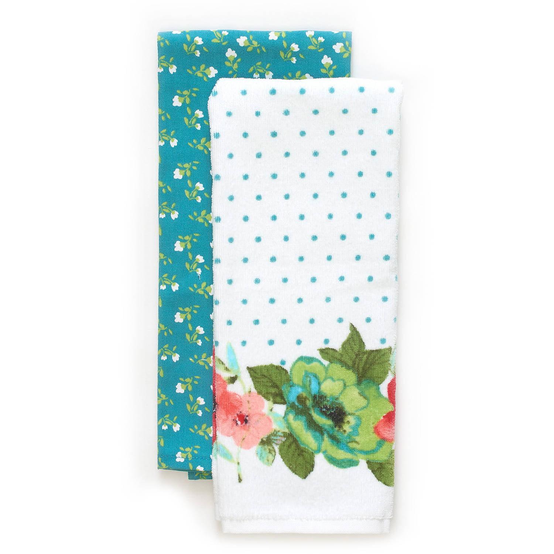 The Pioneer Woman Vintage Bloom 2-Pack Kitchen Towel