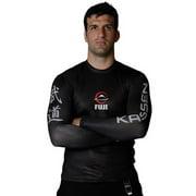 Fuji Kassen Long Sleeve MMA Rashguard - Black