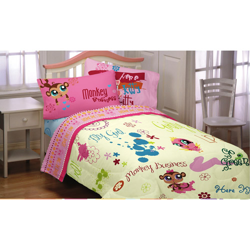 Littlestpetshop-hasb Littlest Pet Shop Twin Comforter ...