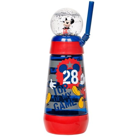 Disney Mickey Mouse Snowglobe Tumbler with (Mickey Mouse Tumbler)
