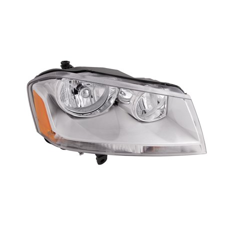 2008-2014 Dodge Avenger 2008-2014 SE SXT Headlight Halogen Passenger Right Headlamp Assembly New CH2503215 and CH2503182