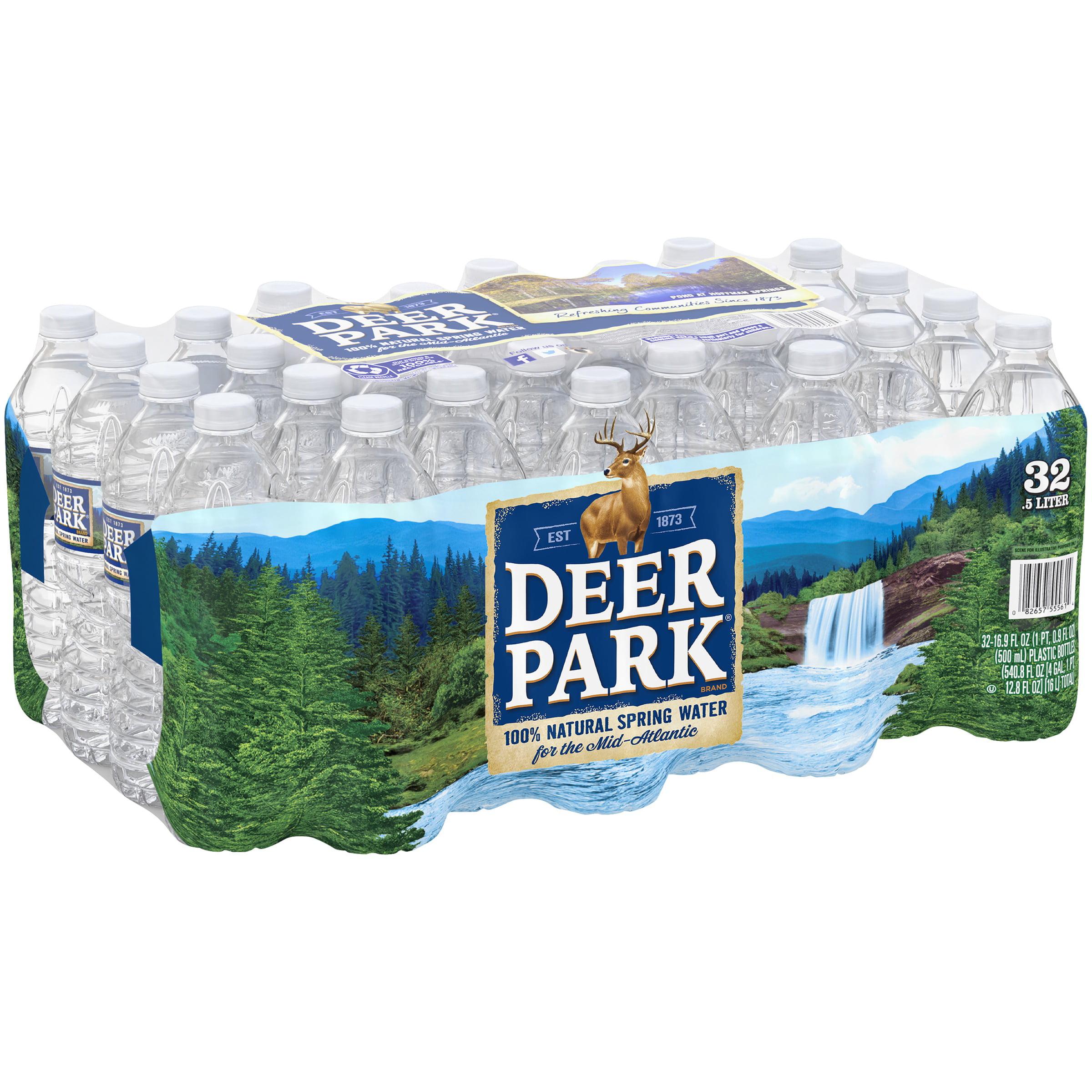 Deer Park Natural Spring Water, 16 9 Fl  Oz , 32 Count