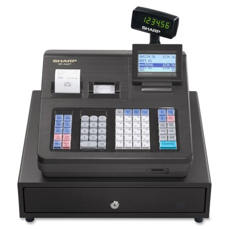 - 7000 PLUs - 40 Clerks - 99 Departments - Thermal Printing (Sharp Electronic Cash Register Manual)