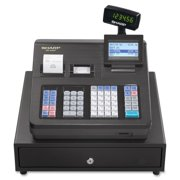 Sharp Cash Register - 7000 PLUs - 40 Clerks - 99 Departments - Thermal Printing